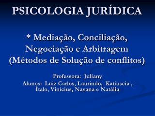 Professora:   Juliany