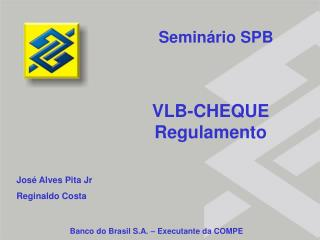 VLB-CHEQUE  Regulamento