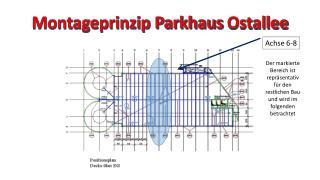 Montageprinzip Parkhaus  Ostallee