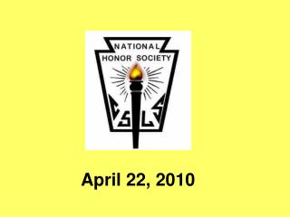April 22, 2010