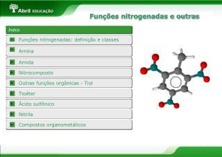Funções nitrogenadas e outras