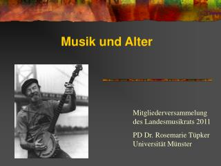 Musik und Alter