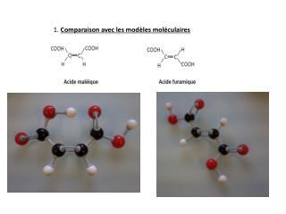 1.  Comparaison avec les modèles moléculaires