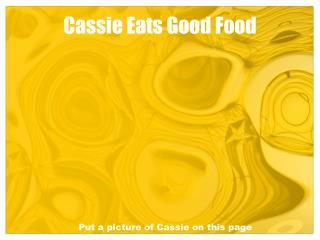 Cassie Eats Good Food