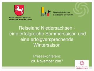Pressekonferenz 28. November 2007