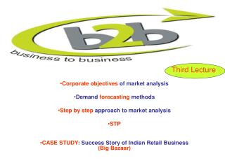 Corporate objectives  of market analysis Demand  forecasting  methods