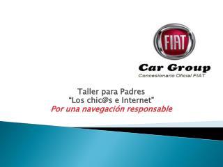 """Taller para Padres """"Los chic@s e Internet"""" Por una navegación responsable"""