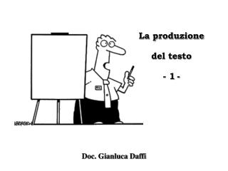 Doc. Gianluca Daffi