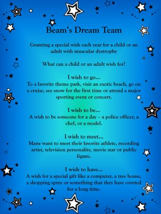 Beam�s Dream Team