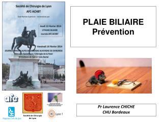 PLAIE BILIAIRE  Prévention