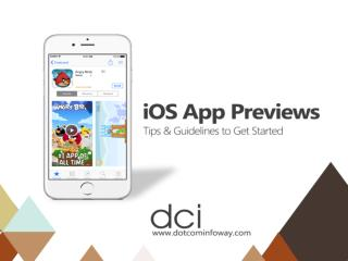 iOS App Previews - Tips & Guidelines to Get Started