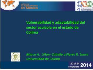 Ubicación geográfica de las Unidades acuícolas en Colima