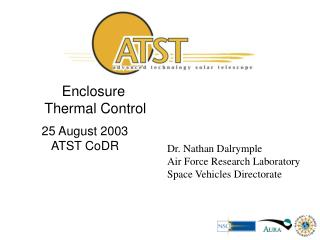 Enclosure  Thermal Control