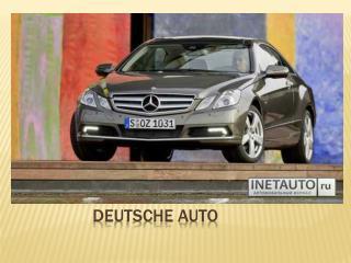 Deutsche Auto