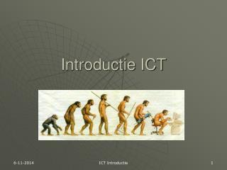 Introductie ICT