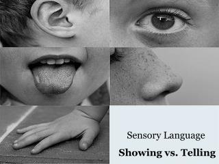 Sensory Language Showing vs. Telling