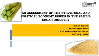AN ASSESSMENT OF THE STRUCTURAL AND POLITICAL ECONOMY ISSUES IN THE ZAMBIA SUGAR INDUSTRY