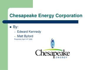 Chesapeake Energy Corporation