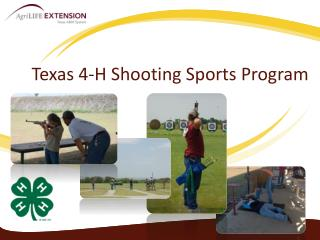 Texas 4-H Shooting Sports Program
