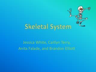 Jessica White, Caitlyn Terry, Anita Falade, and Brandon Elliott