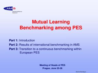 Mutual Learning Benchmarking among PES