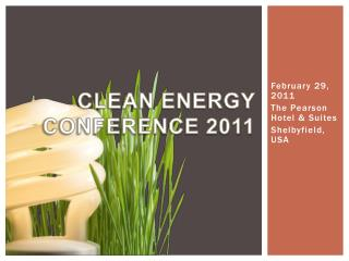 Clean Energy Conference 2011