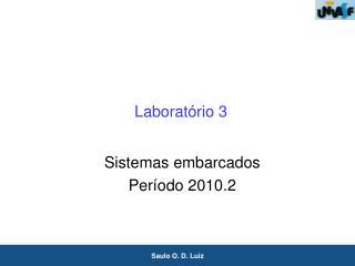 Laboratório 3