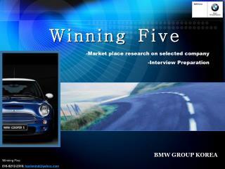 Winning Five