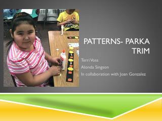 Patterns- Parka Trim