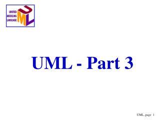 UML - Part 3