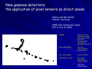 New gaseous detectors: the application of pixel sensors as direct anode
