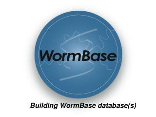 Building WormBase database(s)