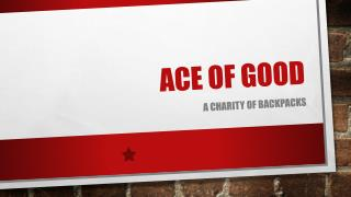 Ace of good