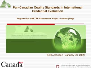 Pan-Canadian Quality Standards in International Credential Evaluation