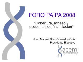 FORO PAIPA 2008