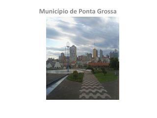 Munic�pio de Ponta Grossa