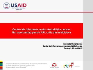 Centrul de Informare pentru Autoritățile Locale :