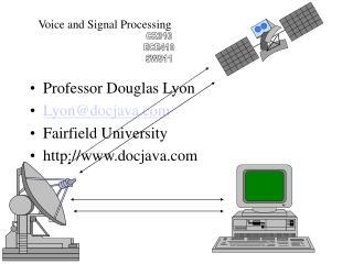 Professor Douglas Lyon Lyon@docjava Fairfield University docjava