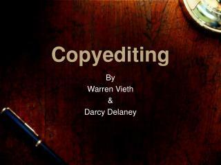 Copyediting