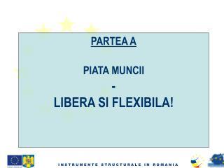 PARTEA A PIATA MUNCII - LIBERA  SI FLEXIBILA!