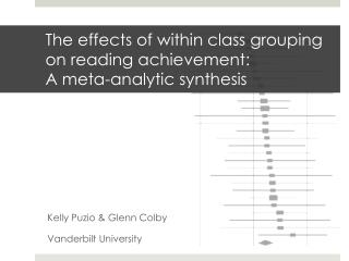 The effects of within class grouping on reading achievement: A meta-analytic synthesis