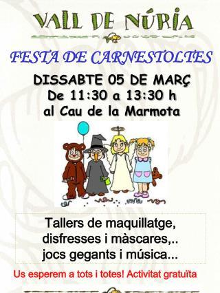 FESTA DE CARNESTOLTES