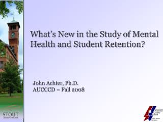 Mental Health as a Predictor of Student Retention