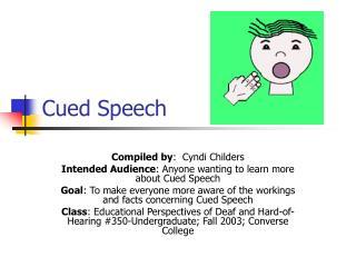 Cued Speech