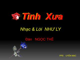 T�nh X?a