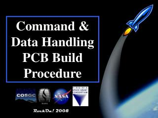 Command & Data Handling PCB Build Procedure