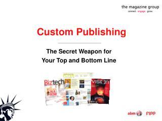 Custom Publishing