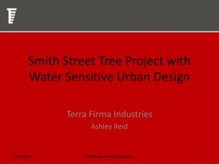 Smith Street Tree Project with Water Sensitive Urban Design