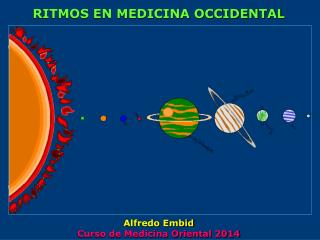 RITMOS EN MEDICINA OCCIDENTAL