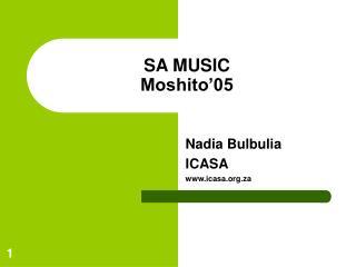 SA MUSIC Moshito'05